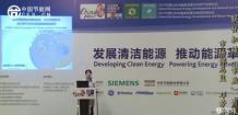 联优机械总监邓芳芳在分布式能源发展与天然气发电/余热利用论坛演讲